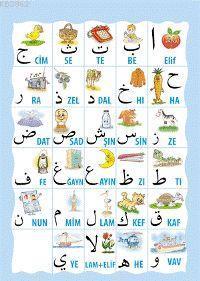 Kuran Elifbası Posteri