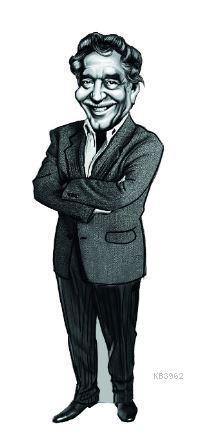 Gabriel García Márquez Karikatür Ayraç