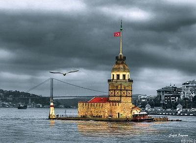 Anatolian Puzzle Kız Kulesi Nostalji 1000 Parça 3167