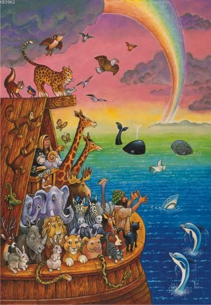 Anatolian Puzzle Nuhun Gemisi / Noah & The Rainbow 260 Parça 3307