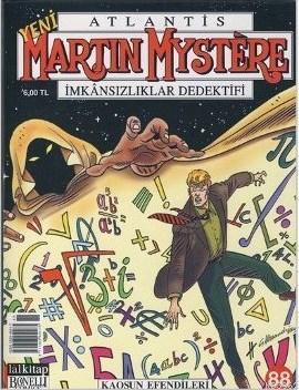 Yeni Martin Mystere Sayı: 88 Kaosun Efendileri
