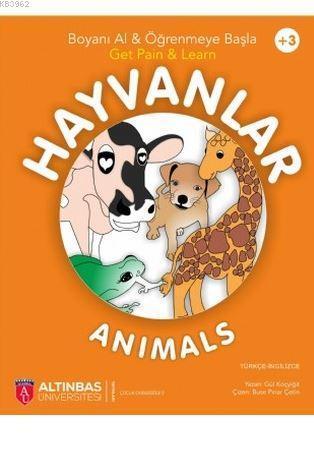 Hayvanlar - Animals (Boyama Kitabı)