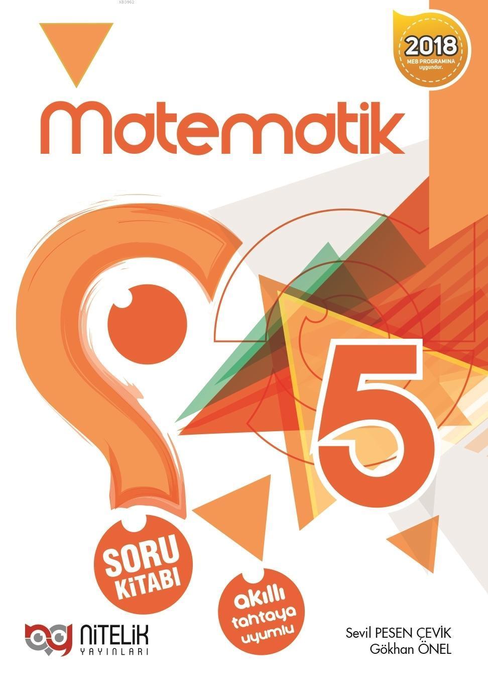 Nitelik Yayınları 5.Sınıf Matematik Soru Kitabı