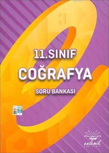 Endemik Yayınları 11. Sınıf Coğrafya Soru Bankası Endemik