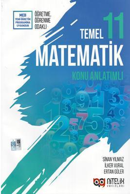 Nitelik Yayınları 11. Sınıf Temel Düzey Matematik Konu Anlatımlı Nitelik