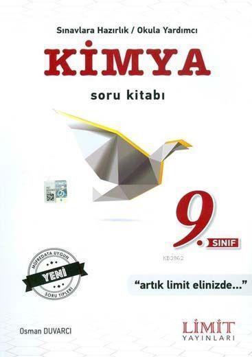 Limit Yayınları 9. Sınıf Kimya Soru Kitabı Limit