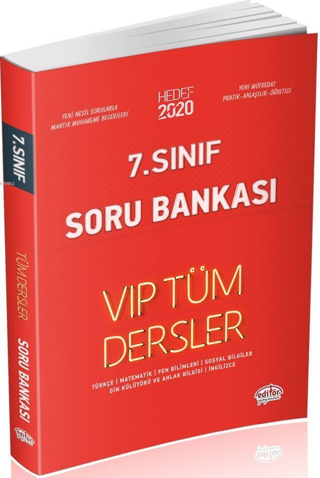 7. Sınıf VIP Tüm Dersler Soru Bankası