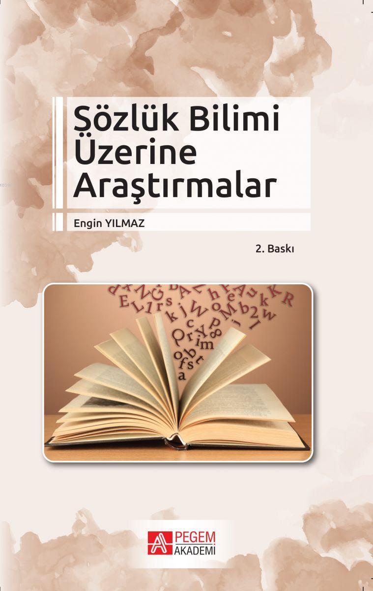 Sözlük Bilimi Üzerine Araştırmalar