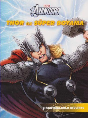 Marvel Avengers: Thor ile Süper Boyama