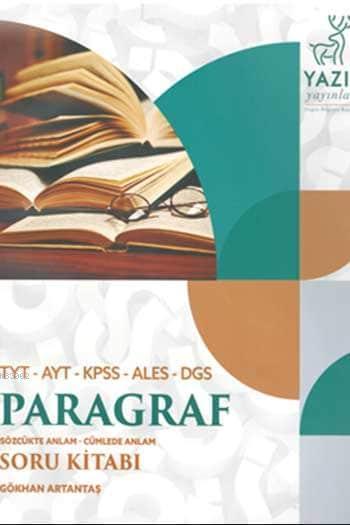 TYT - AYT - KPSS -ALES - DGS Paragraf Soru Kitabı Sözcükte Anlam - Cümlede Anlam