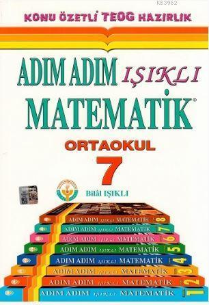 7. Sınıf Adım Adım Işıklı Matematik Konu Anlatımlı