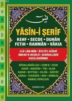 Fihristli Yasin-i Şerif (Cami Boy-Ciltli); Kur'an-ı Kerim'den Sureler ve Günlük Dualar