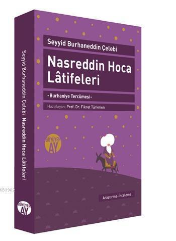 Nasreddin Hoca Latifeleri; Burhaniye Tercümesi
