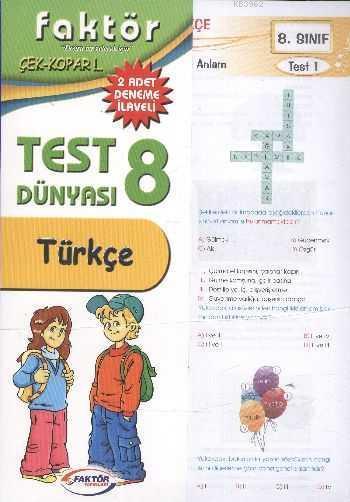 8. Sınıf Türkçe Test Dünyası