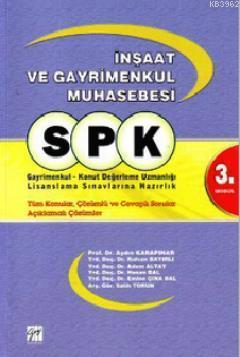 SPK İnşaat ve Gayrimenkul Muhasebesi - 3. Modül