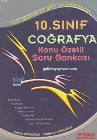10. Sınıf Coğrafya Konu Özetli Soru Bankası