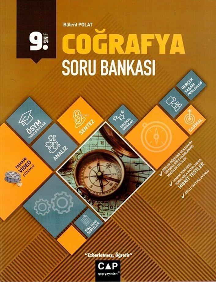 Çap Yayınları 9. Sınıf Anadolu Lisesi Coğrafya Soru Bankası Çap