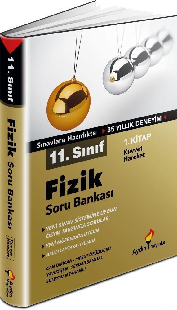 Aydın Yayınları 11. Sınıf Fizik Soru Bankası 1. Kitap Aydın