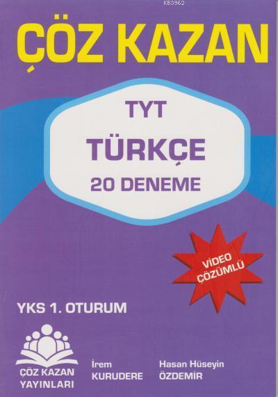 Çöz Kazan YKS TYT Türkçe 20 Deneme 1. Oturum