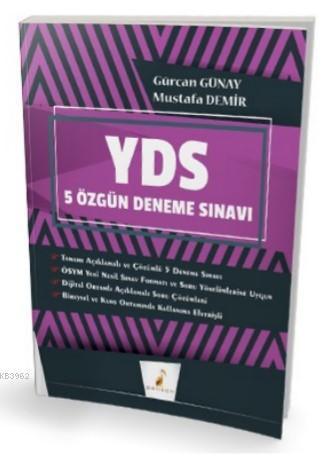 YDS Çek Kopart 5 Özgün Deneme Sınavı Dijital Çözümlü