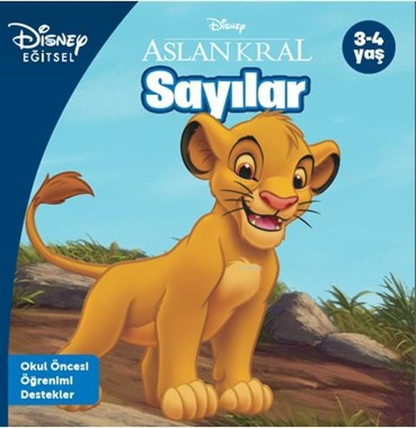 Disney Eğitsel Aslan Kral - Sayılar; 3-4 Yaş
