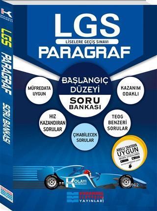 2018 8.Sınıf LGS Başlangıç Düzey K Serisi Paragraf Soru Bankası