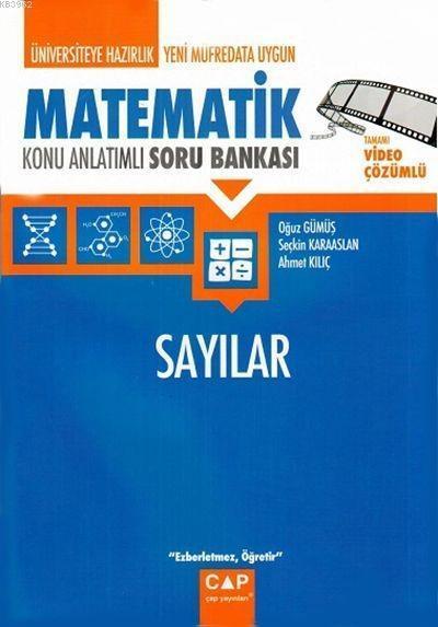 Çap Yayınları Üniversiteye Hazırlık Matematik Sayılar Konu Anlatımlı Soru Bankası Çap