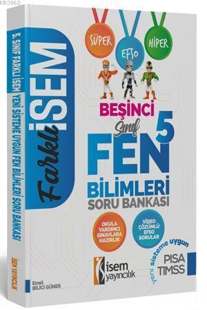 İsem Yayınları 5. Sınıf Fen Bilimleri Soru Bankası İsem