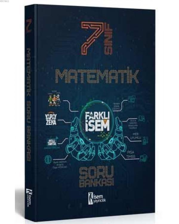 İsem 2021 7.Sınıf Farklı İsem Matematik Soru Bankası İsem Yayıncılık