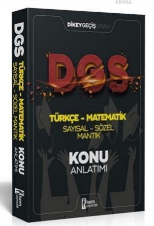 İsem 2021 DGS Türkçe Matematik Sayısal Sözel Mantık Konu Anlatımı