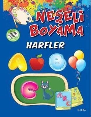 Neşeli Boyama - Harfler