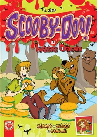 Scooby-Doo! İle İngilizce Öğrenin 3.Kitap; Scooby ve Shaggy İle Oynayın
