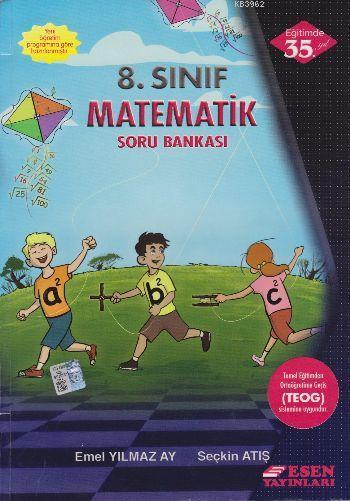 Esen Yayınları 8. Sınıf LGS Matematik Soru Bankası Esen