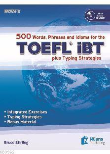 Nova's 500 Words, Phrases and Idioms for the TOEFL  iBT +CD