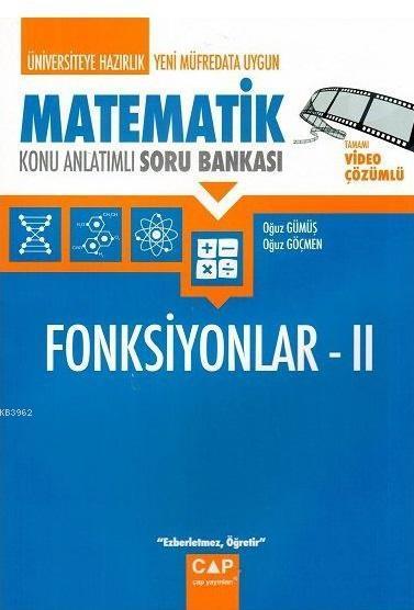 Çap Matematik Fonksiyonlar 2 Konu Anlatımlı Soru Bankası