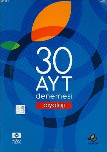 Endemik Yayınları AYT Biyoloji 30 Denemesi Endemik