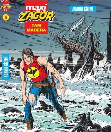Zagor Maxi Cilt 5: Adanın Gizemi
