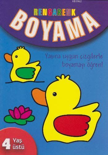 Rengarenk Boyama (4+ Yaş)