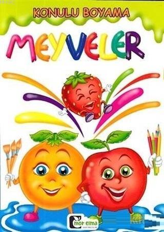 Meyveler - Konulu Boyama