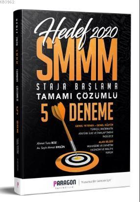 SMMM Staja Başlama Tamamı Çözümlü 5 Deneme