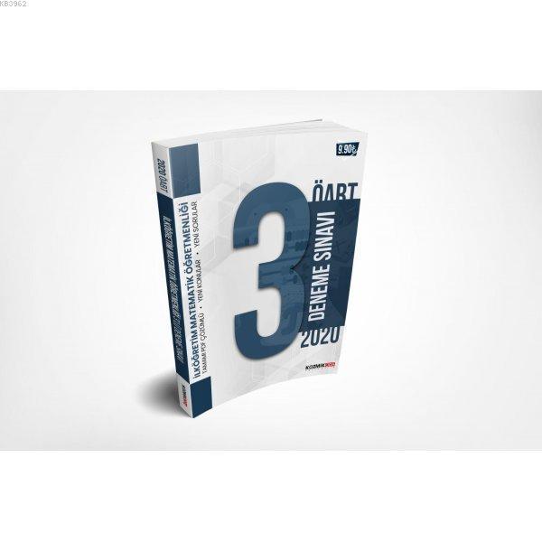 2020 ÖABT İlköğretim Matematik Öğretmenliği PDF Çözümlü 3'lü Deneme Seti Kozmik