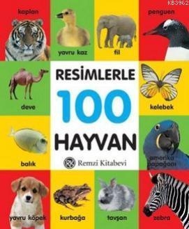 Resimlerle 100 Hayvan - Küçük Boy