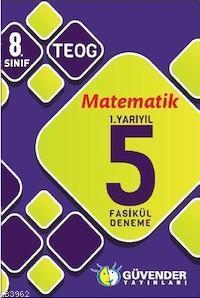 8. Sınıf TEOG Matematik 1.Yarıyıl 5 Fasikül Deneme