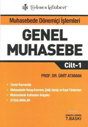 Genel Muhasebe; Cilt-1