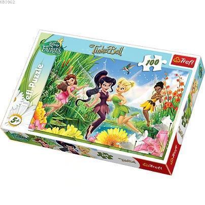 Trefl Puzzle 16159 Cheerfull Fairies 100 Parça