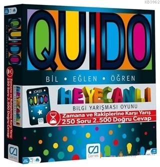 Quido Board Game - Eğitici Puzzle