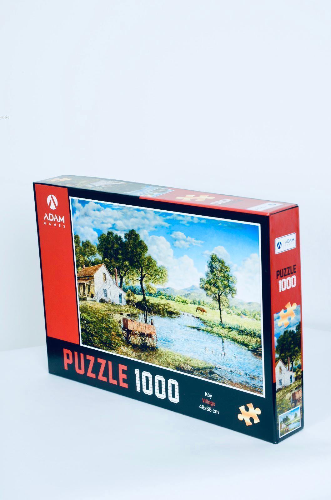 Adam Games Köy 1000 Parça Puzzle 48x68