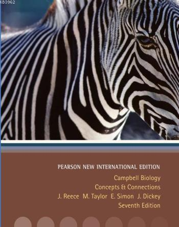 Campbell Biology; Concepts & Connections Pearson New International Edition, plus MasteringBiology without eText