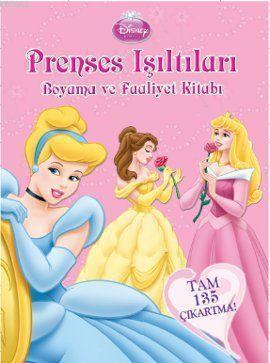 Prenses Işıltıları Boyama Ve Faaliyet Kitabı Disney
