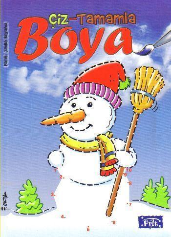 Çiz-Tamamla-Boya; Jumbo Boyama